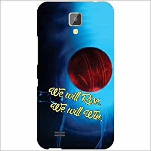 Gionee Pioneer P2S Back Cover - Silicon Winning Ball Designer Cases