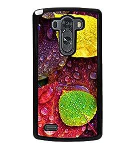 Multicolour Autumn Leaves 2D Hard Polycarbonate Designer Back Case Cover for LG G3 :: LG G3 Dual LTE :: LG G3 D855 D850 D851 D852