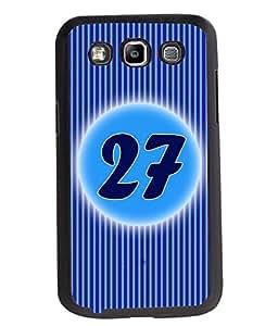 Fuson 2D Printed Numerology Designer back case cover for Samsung Galaxy Quattro / Win - D4247