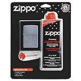 Zippo All In One Kit (Lighter/Fluid/Flints)