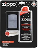Zippo All In One Kit (Lighter/Fluid/Flints)