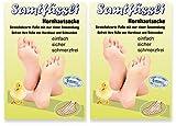 SamtFüssli - Hornhautsocke - Streichelzarte Füße mit nur...