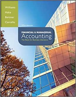 Financial & Managerial Accounting