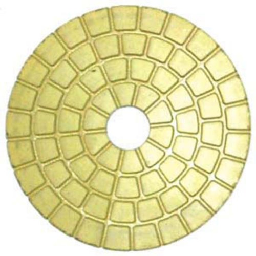 Cyclone Hurricane 4 Inch Wet Resin Polishing Pads -- White Buff Grit (Cyclone Polisher compare prices)