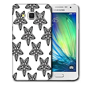 Snoogg Dark Starfish Printed Protective Phone Back Case Cover For Samsung Galaxy A3