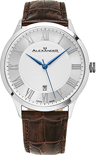 alexander-statesman-triumph-wrist-watch-for-men-brown-leather-stainless-steel-analog-swiss-watch-sil