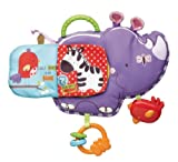 FISHER PRICE Baby Luv U Zoo Activity Rhino 3-18m