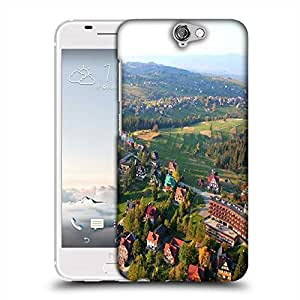 Snoogg City From The Top Designer Protective Phone Back Case Cover For HTC one A9