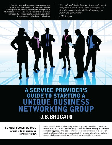 A Service Provider's Guide to Starting a Unique Business Networking Group
