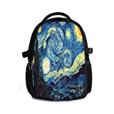 Star Backpacks Shoulder Bags Canvas Casual Backpack Rucksack Daily Bookbag Satchel Travel Hiking bag