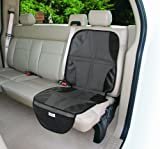 Summer Infant Duo Mat 2 In 1 Car Seat Protector - Black/Grey Baby, NewBorn, Children, Kid, Infant