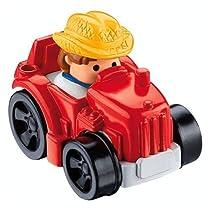 Fisher-Price- Little People Wheelies Tractor