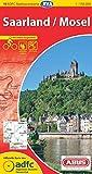 ADFC-Radtourenkarte 19 Saarland /Mosel 1:150.000, reiß- und wetterfest, GPS-Tracks Download und Online-Begleitheft (ADFC-Radtourenkarte 1:150000)