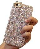 HiLIFE MARKET(ハイライフマーケット) ケース iPhone アイフォン 6 6s 6Plus 6sPlus TPU キラキラ ストーン ゴージャス 全4色 (iPhone6/iPhone6s, ピンク)