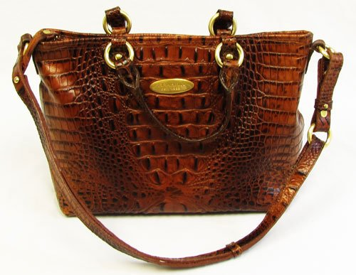 Brahim Mini Alden Tote Shoulder Bag Pecan: Brahmin Handbags Outlet