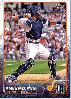2015 Topps Baseball Rookie Card IN SCREWDOWN CASE #12 James McCann - Detroit Tigers RC Mint