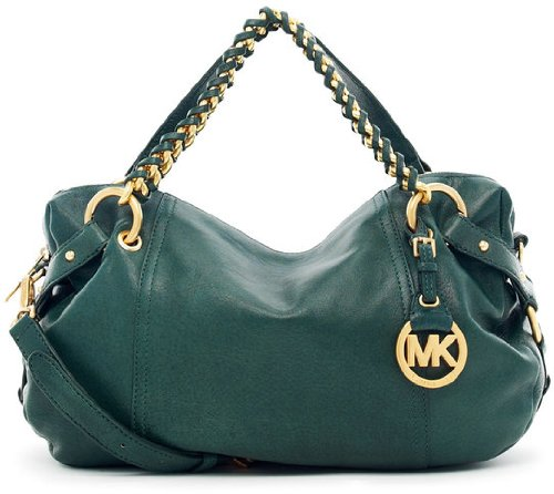 Michael Michael Kors Tristan Medium Satchel Hunter Green