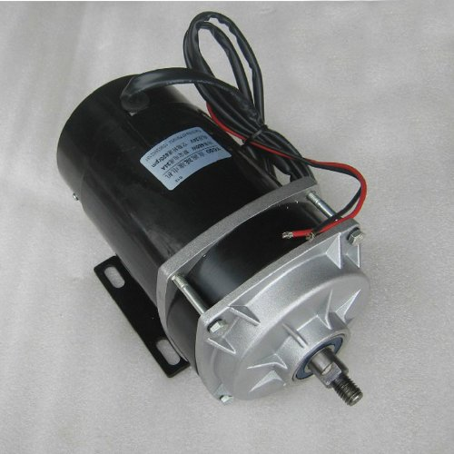 Low Voltage Large Power Dc Speed Control Gear Motor Electromotor 24Vdc 650W