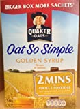 Quaker Oat So Simple Golden Syrup Family Pack 15 Sachets 540g