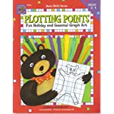 Plotting points: Fun holiday and seasonal graph art (Basic skills series)