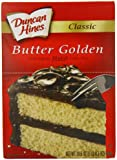 Duncan Hines Signature Golden Butter Recipe Cake Mix, 16.5-Ounce Boxes (Pack of 6)