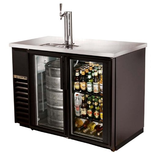 "Underbar Refrigeration - 24"" Back Bar/Direct Draw Beer Dispenser"