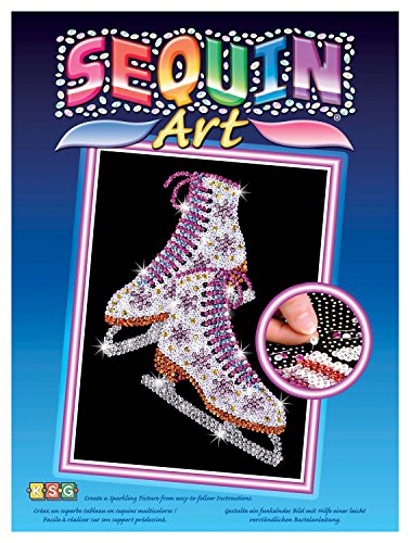 SEQUIN ART - Patines de hielo (1306)