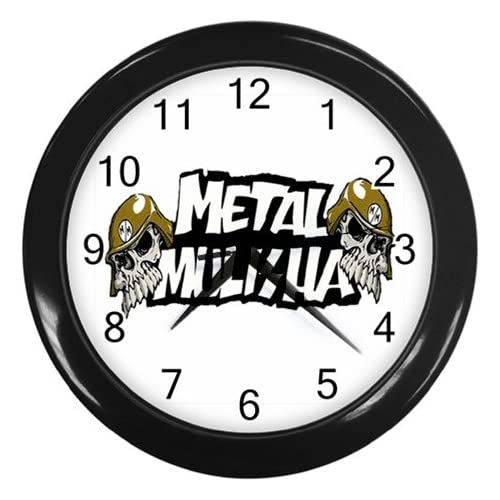 Metal Mulisha Rockstar Logo New Wall Clock Size 10 : Everything Else