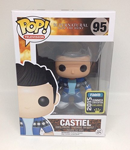 Funko Pop Television Supernatural Join the Hunt Castiel 2015 Summer Convention Exclusive