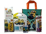 Despicable Me Decorative Nail Art Lip Balm with Grab and Go and Puzzle, Tote & Pez Bundle of 6 [並行輸入品]