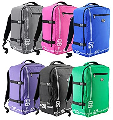 Cabin Max Barcelona 50 x 40 x 20 cm hand luggage backpack suitable for Easyjet Carry on