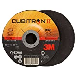 3M Cubitron II Cut-Off Wheel T27, Ceramic Grain, 4-1/2