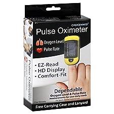 ChoiceMmed Pulse Oximeter, 1 oximeter