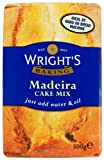 Wright's Baking Madeira Cake Mix 500 g (Pack of 5)