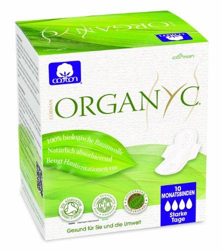 organyc-damenbinden-mit-flugeln-fur-die-nacht-aus-100-biologischer-baumwolle-4er-pack-4-x-10-stuck