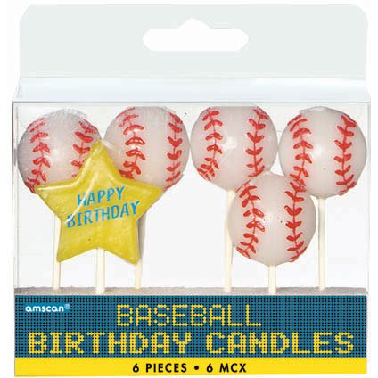 Baseball Pick Candles - 1