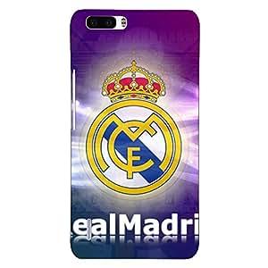 Jugaaduu Real Madrid Back Cover Case For Honor 6 Plus