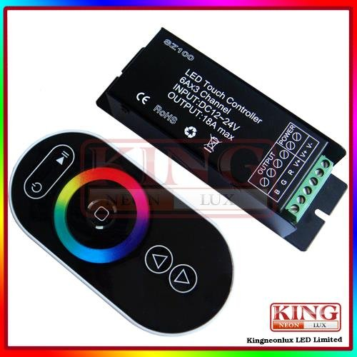 Remote Touch Controller For Rgb Led Strip 12V-24V Dc Free Shipping front-178414