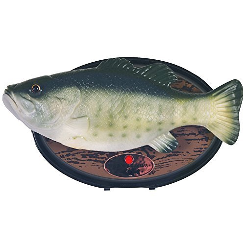 Big Mouth Billy Bass Plaque Sings