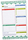 """bloom daily planners Planning System Tear Off To Do Pad - Teal Daily Planner To Do Pad 9"""" x 6"""""""
