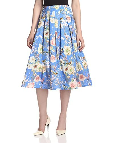 Gracia Women's Floral Print Skirt