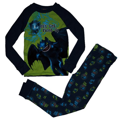 How to Train Your Dragon Night Fury 2 Pc Pajama Set