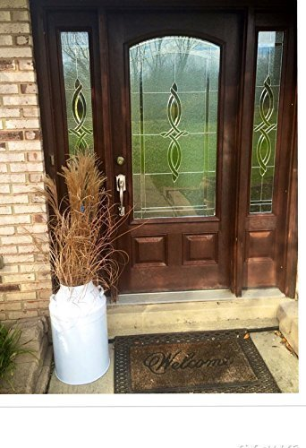 outdoor décor, entry way décor, milk can, metal milk jugs, white milk jug, white milk can, patio furniture, garden furniture, milk jugs, entry way milk can (Milk Can Table compare prices)