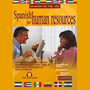 Spanish for Human Resources Audiobook