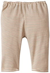 Zutano Unisex Baby Candy Stripe Pant, Chocolate, 18 Months