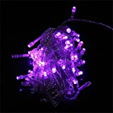 Generic 100 LED 10m String Decoration Light for Christmas Party Wedding 110V Purple