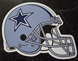 Dallas Cowboys Helmet Logo NFL Car Magnet