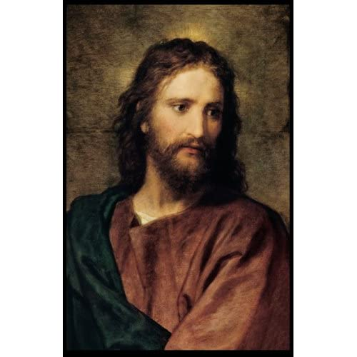 "11"" X 17""] Jesus Christ By Heinrich Hofmann: LDS, The Church of Jesus"