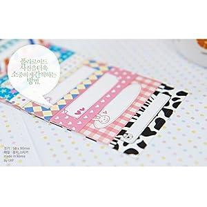 20 PCS Message Memo Pattern Films Sticker For FujiFilm Instax Mini 8 7s 25 50s