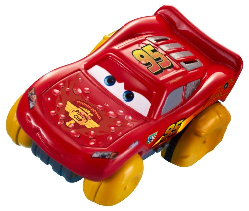 Disney/Pixar Cars, Hydro Wheels, Lightning McQueen Bath Vehicle - 1